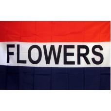 Flowers 3'x 5' Business Flag