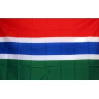 Gambia 3'x 5' Country Flag