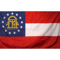 Georgia 3'x 5' Solar Max Nylon State Flag