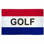 Golf Patriotic 3' x 5' Polyester Flag