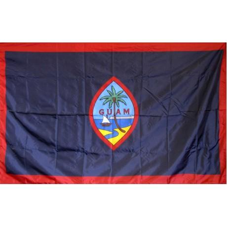 Guam 3' x 5' Solar Max Nylon Flag