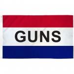 Guns Patriotic 3' x 5' Polyester Flag