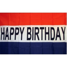 Happy Birthday 3'x 5' Polyester Flag