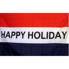 Happy Holiday 3'x 5' Business Flag