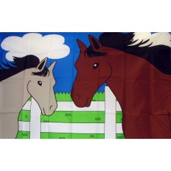 Horses 3'x 5' Novelty Flag