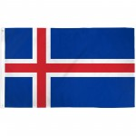 Iceland 3'x 5' Country Flag