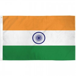 India 3'x 5' Country Flag