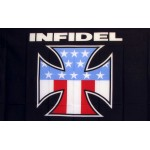 Infidel 3'x 5' Novelty Flag