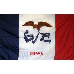 Iowa 3'x 5' Solar Max Nylon State Flag