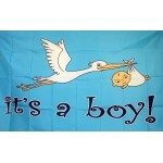 It's A Boy 3'x 5' Novelty Flag