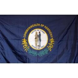 Kentucky 3'x 5' Solar Max Nylon State Flag