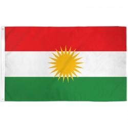 Kurdistan 3'x 5' Country Flag