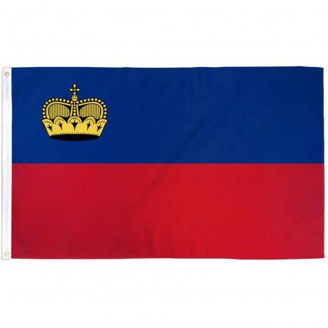 Liechtenstein 3'x 5' Country Flag