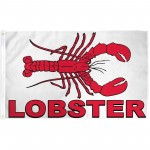Lobster 3'x 5' Advertising Flag