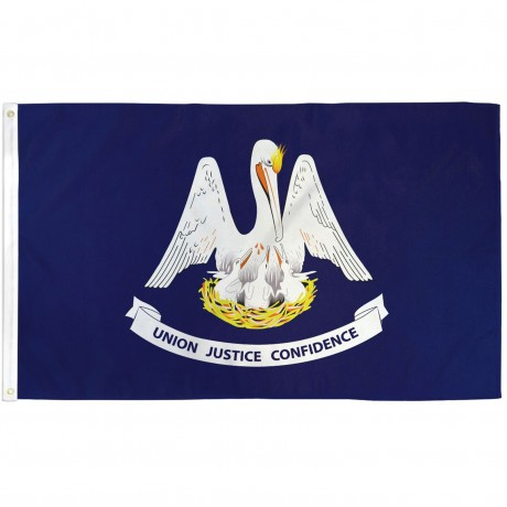 Louisiana State 3' x 5' Polyester Flag