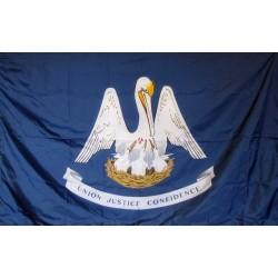 Louisiana 3'x 5' Solar Max Nylon State Flag