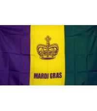 Mardi Gras Historical 3'x 5' Flag