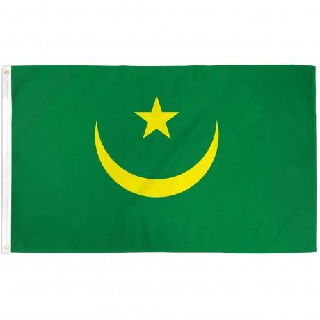 Mauritania 3'x 5' Country Flag