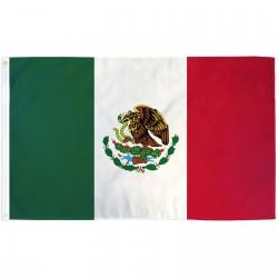 Mexico 3' x 5' Polyester Flag