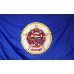Minnesota 3'x 5' Solar Max Nylon State Flag
