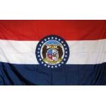 Missouri 3'x 5' Solar Max Nylon State Flag