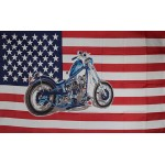 US Motorcycle Historical 3'x 5' Flag