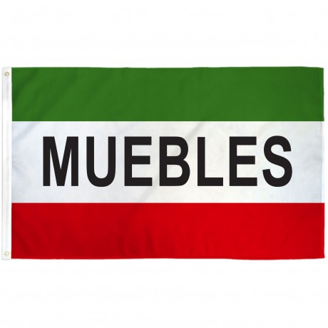 Muebles 3' x 5' Polyester Flag
