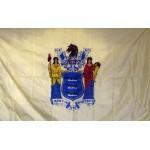 New Jersey 3'x 5' Solar Max Nylon State Flag