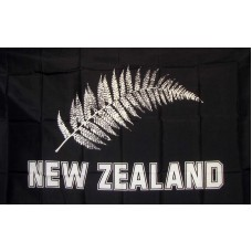 New Zealand Football 3'x 5' Novelty Flag