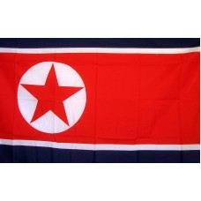 Korea North 3'x 5' Country Flag