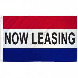Now Leasing Patriotic 3' x 5' Polyester Flag
