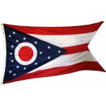 Ohio 3'x 5' Solar Max Nylon State Flag
