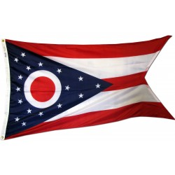 Ohio 3'x 5' Solar Max Nylon State Flag