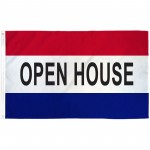 Open House 3' x 5' Polyester Flag