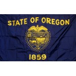 Oregon 3'x 5' Solar Max Nylon State Flag