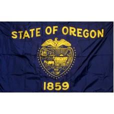 Oregon 3'x 5' Solar Max Nylon State Flag