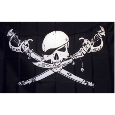 Brethren of the Coast 3'x 5' Pirate Flag