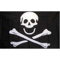 Skull and Crossbones Jolly Roger 3'x 5' Pirate Flag