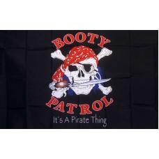Booty Patrol 3'x 5' Pirate Flag