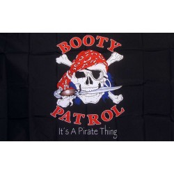 Booty Patrol 3'x 5' Pirate Flag