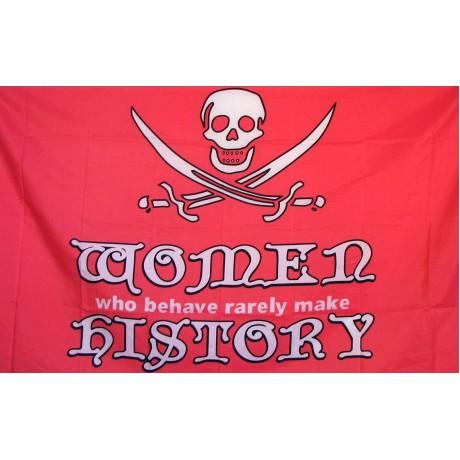 Pirate Women 3'x 5' Pirate Flag