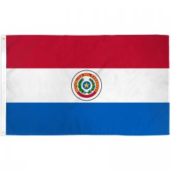 Paraguay 3'x 5' Country Flag