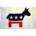 Democratic Party 3' x 5' Polyester Flag