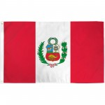 Peru 3'x 5' Country Flag