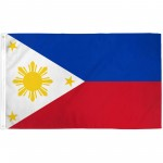 Philippines 3'x 5' Country Flag