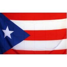 Puerto Rico 3'x 5' Polyester Flag