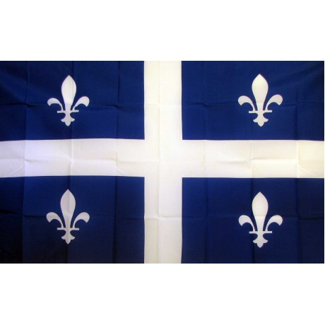 Quebec 3'x 5' Flag