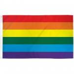 Rainbow Gay Pride 3' x 5' Polyester Flag