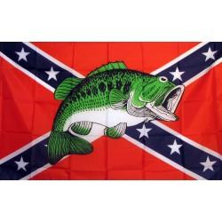 Rebel Bass 3'x 5' Novelty Flag