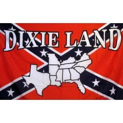 Rebel Dixie Land 3'x 5' Novelty Flag